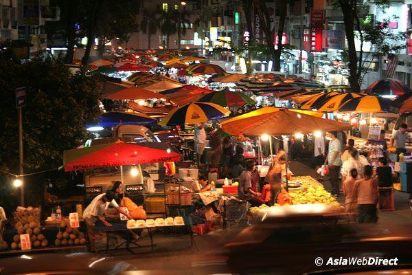 Exploring the traditional night market or Pasar Malam of Malaysia
