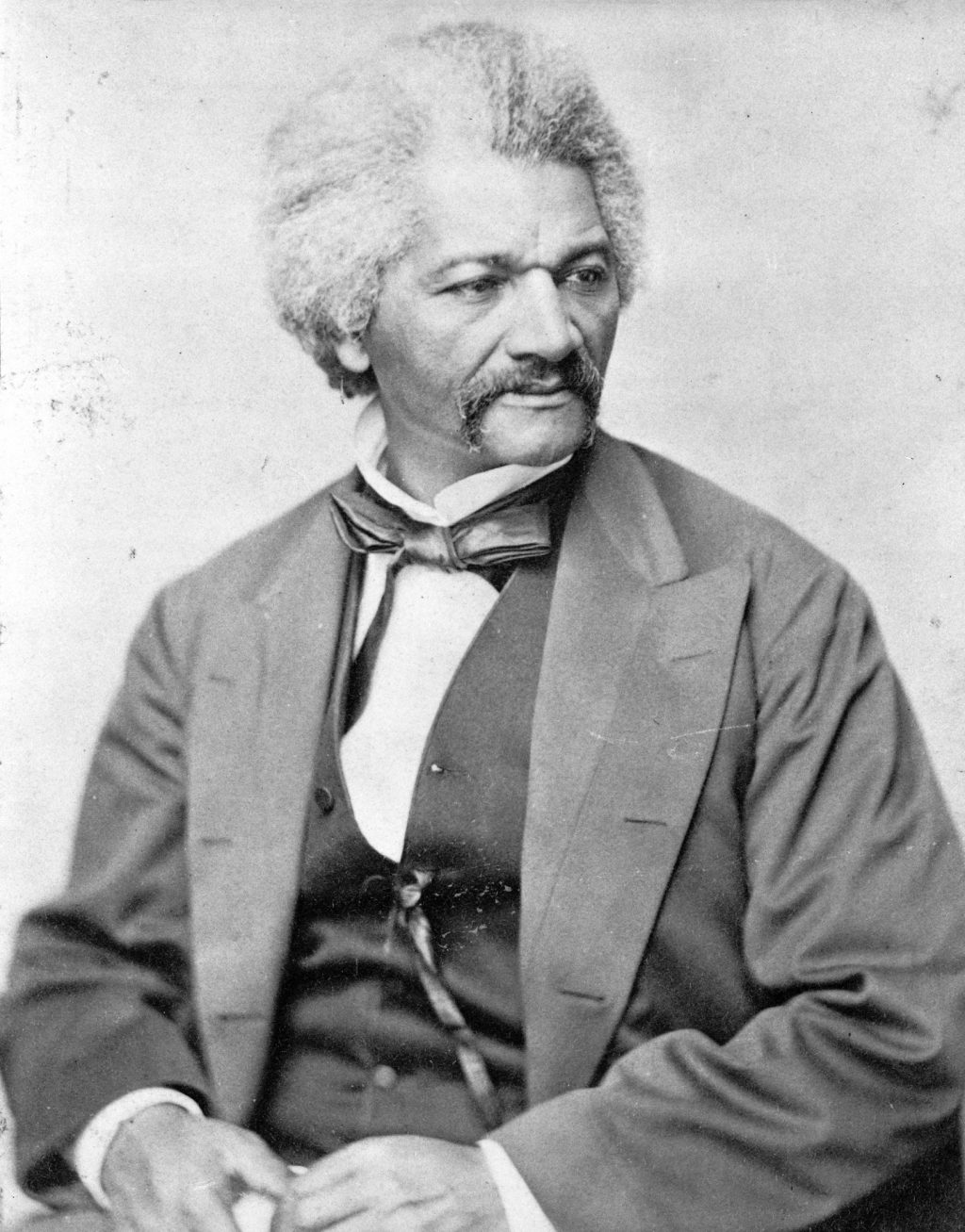 Abolitionist, journalist and author Frederick Douglass. Photo by George Francis Schreiber, April 26, 1870. Prints and Photographs Division, Library of Congress